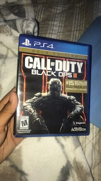 Call of Duty Black Ops 3 PS4 game case Bakersfield, 93313