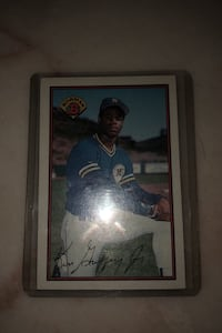 Ken Griffey rookie card bowman card 220