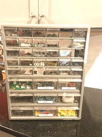 Hardware and craft storage drawers Chantilly, 20151
