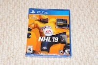 PS4 NHL 19 - Brand New Sealed Burnaby