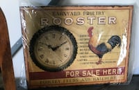 Rooster for sale signage