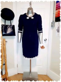 Indigo Dress (Original Design)  Cambridge, N1R 3K1