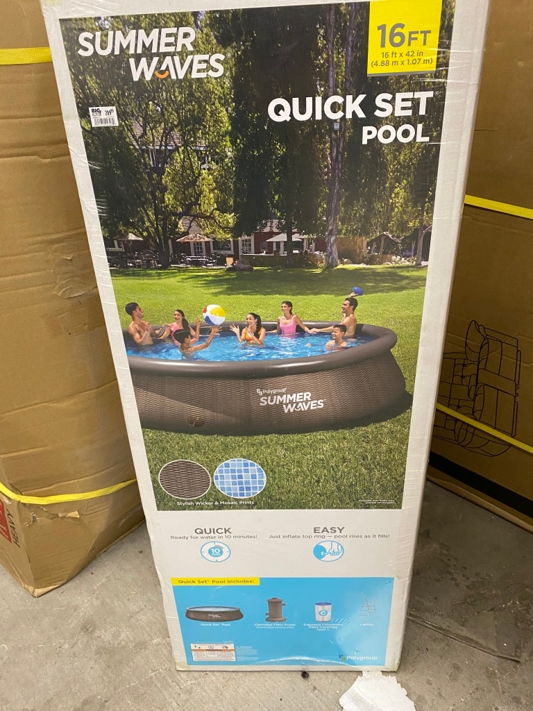 Photo Quick Set Swimming pool