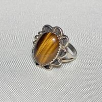 Sterling Silver Tigers Eye Ring Ashburn, 20147