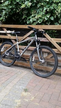 gray and black hardtail mountain bike The Royal Town of Sutton Coldfield, B76 1JL