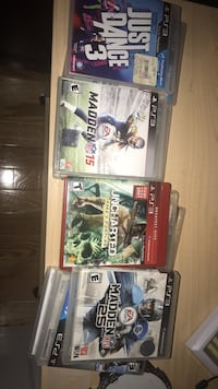 PLAY STATION 3 GAME BUNDLE Dumfries, 22026