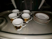 Tea cups with plates  Springfield, 22150