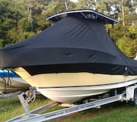 Sunbrella Boat Cover for 20' Center Console with T-Top Sarasota, 34233