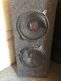 Sub enclosure with 2 - 10 inch subs Burnaby, V5J 2A7