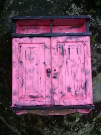 pink and purple wooden cabinet Mentone, 35984