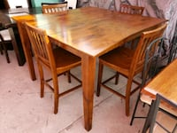 High Dining Table With 4 Chairs El Paso, 79915