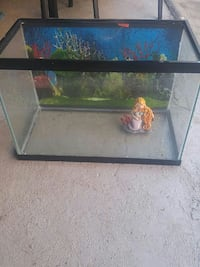 rectangular clear glass pet tank ] Quebec, H4R 1L5