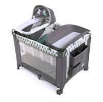 Bassinet and diaper changer