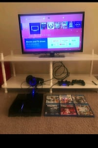 PS4 500GB with 2 controllers & 6 Games Charlotte, 28216