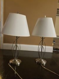 Two table lamps