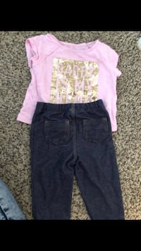 Girl pants and shirt size 18-24month Fort Worth, 76119