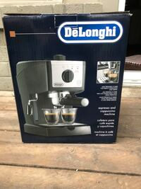 Brand new Delonghi Espresso machine