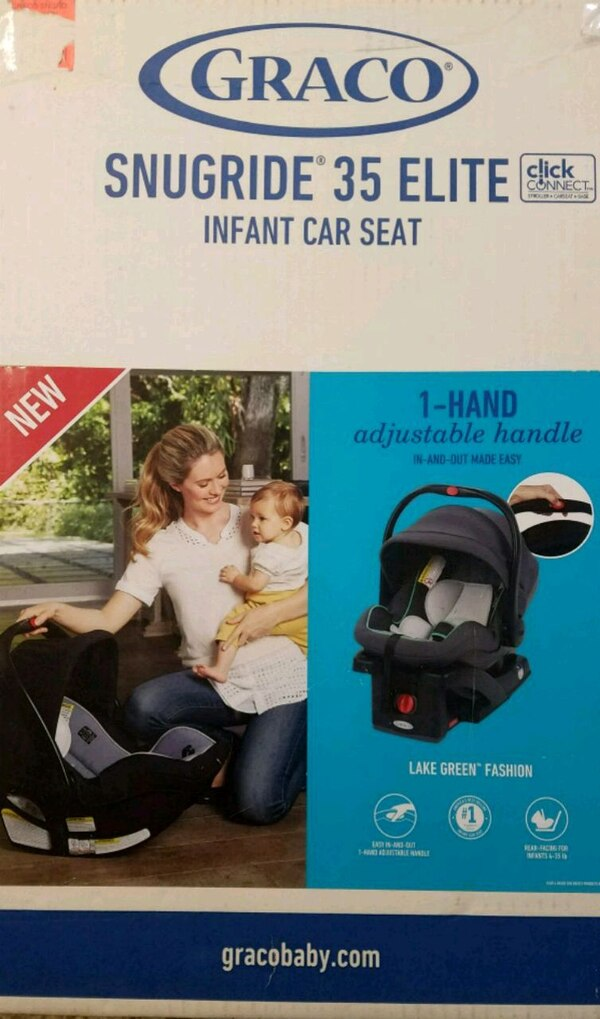 Snugride 35 Elite Infant Car Seat NIB