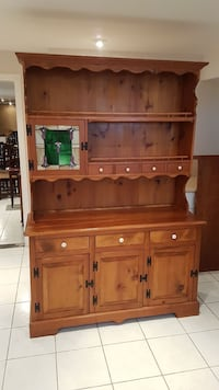 Country style pine cupboard