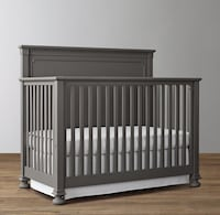 Restoration Hardware kids Jameson  crib and toddler conversion bed kit Aldie, 20105