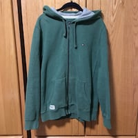 Tommy Hilfiger Zip-up Hoodie Burnaby, V5G