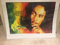 Bob Marley print, brand new in wrapping  Toronto, M9P 3H6