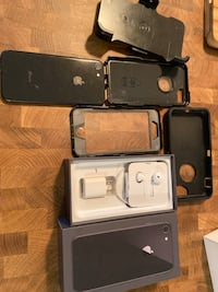 Unlocked 256 GB IPhone 8 with otter box defenders and clip Edmonton, T6A 3G1