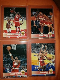 four basketball trading cards Suffolk, 23434