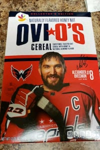 Ovi O's Cereal (Alex Ovechkin, Washington Capitals) Herndon, 20170