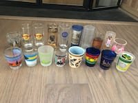 Various shot glasses Arlington