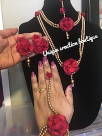 beautiful flower jewelery perfect for baby shower and wedding ritual Edmonton, T6T 0M7
