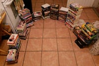 Movies for sale $2-4 dollars each  El Paso, 79905