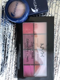 Make up NYX and luna by luna  Not used ever unopened