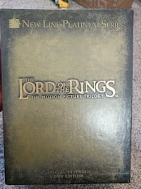 Lord of the Rings Trilogy Special Edition