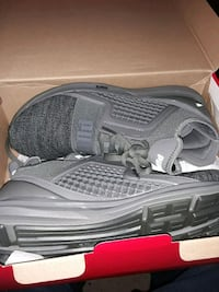 pair of gray-and-black running shoes Little Rock, 72201