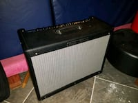black and gray Fender guitar amplifier Indian Head, 20640