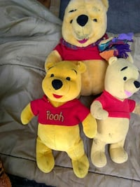 WINNIE THE POO BEARS ALL FROM DIFFERENT Saint Joseph, 64507