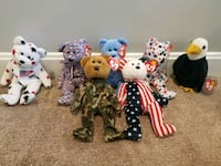 Patriotic Beanie Babies collection Billerica, 01821