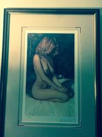 Many framed pics , same artist with signed limited edition  Vancouver, V6E