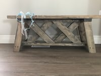 Beautiful handcrafted spruce benches Kitchener, N2H 1Y9