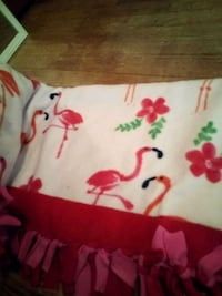 white and red floral textile Manitowoc, 54220