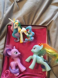 My little ponies 10$ for all 3