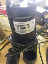 1/ 2 hp new sump pump  Red Deer, T4N 3M1