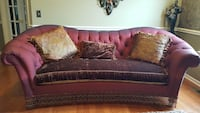 Paul Roberts Burgundy couches Rochester Hills, 48309