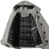 ZIPO ACEX FAUX FUR COTTON COAT WITH HOODIE