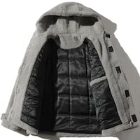 ZIPO ACEX FAUX FUR COTTON COAT WITH HOODIE Istanbul