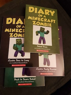 Diary Of A Minecraft Zombie - Various ($4 Each)
