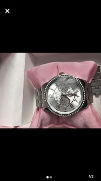 Pink and Silver Guess Watch  Vaughan, L4J 5X3