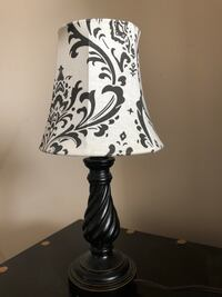 white and black floral table lamp Calgary, T3J 0P6