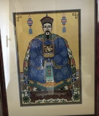 Used Chinese Emperor Needlepoint (23widex29high) Clawson, 48017